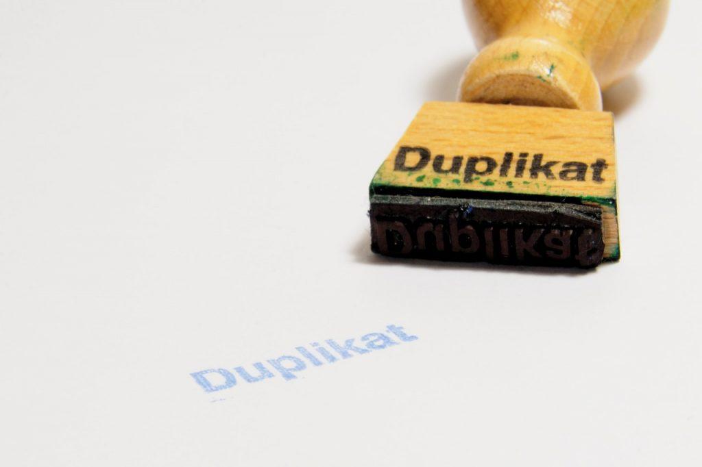 Duplikaty – rodzaje i wpływ na pozycje